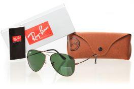 Солнцезащитные очки, Ray Ban Original 3535D-green-br
