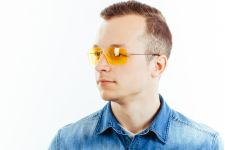 Водительские очки L02 yellow